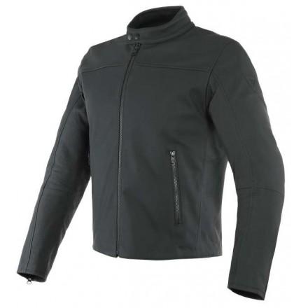 Giacca pelle moto Dainese Mike 2 nero black leather jacket
