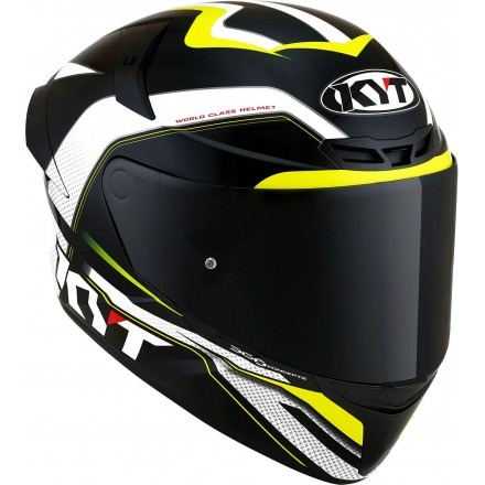 Casco integrale moto Kyt TT Course Grand Prix nero verde black green helmet casque