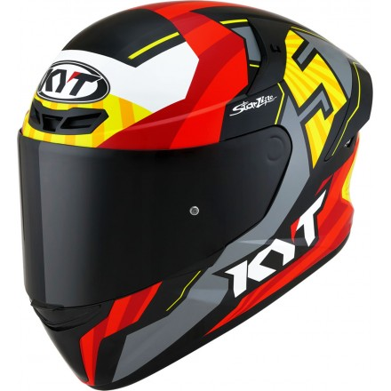 Casco integrale moto Kyt TT Course Flux helmet casque