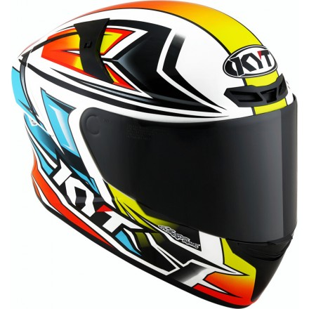 Casco integrale moto Kyt TT Course Radiance helmet casque