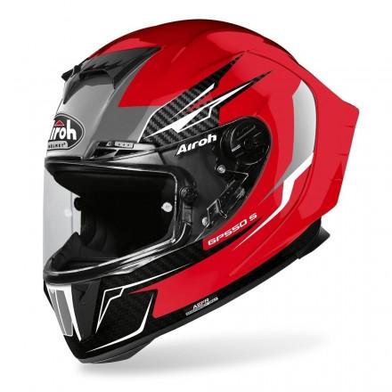 Casco integrale moto Airoh Gp 550 S Venom rosso red gloss helmet casque GP55V55