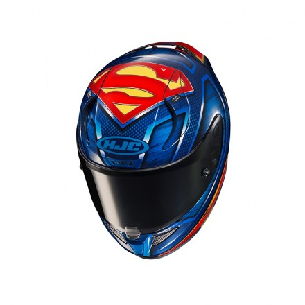Casco integrale moto Hjc Rpha 11 Superman DC Comincs Helmet casque
