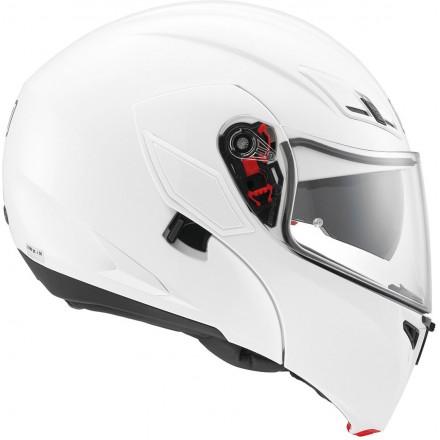 Casco modulare apribile moto Agv Compact ST pinlock bianco white flip up helmet