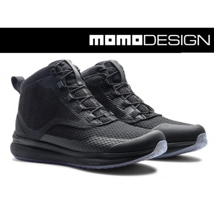 Scarpe moto Tcx Momo Design Firegun 3 air nero black shoes
