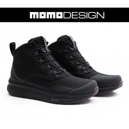 Scarpe moto donna impermeabili Tcx Momo Design Firegun 3 WP lady nero black waterproof woman shoes