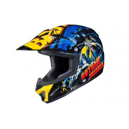 Casco moto cross bambino bimbo Hjc CL-XY II Batman kid junior enduro offroad motard helmet casque