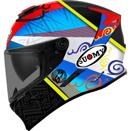 Casco integrale moto Suomy Stellar Pecco Bagnaia helmet casque