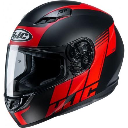 Casco Integrale moto Hjc Cs-15 Mylo nero rosso black red MC1 helmet casque
