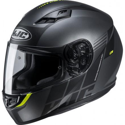 Casco Integrale moto Hjc Cs-15 Mylo nero grigio black grey MC5 helmet casque