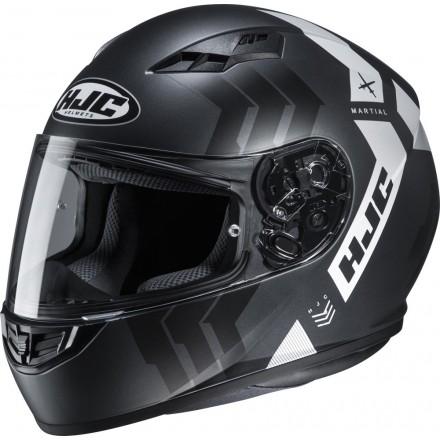 Casco Integrale moto Hjc Cs-15 Martian nero grigio black grey MC5 helmet casque