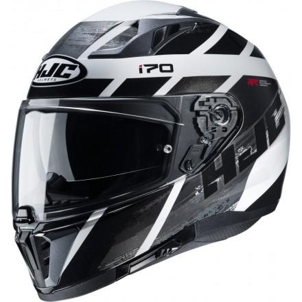 Casco integrale moto Hjc I70 Reden bianco nero MC1 white black helmet casque