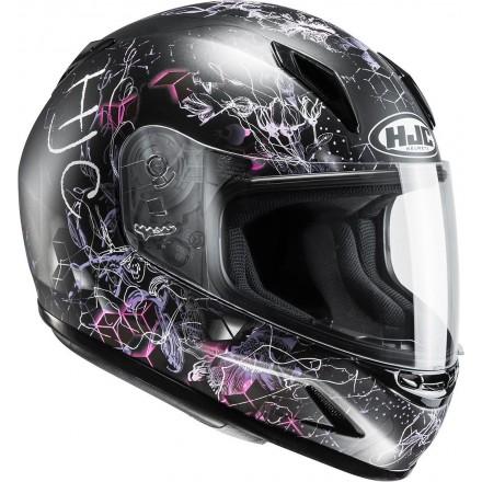 Casco integrale moto donne bambini Hjc CL-Y Vela Mc8 lady young helmet casque