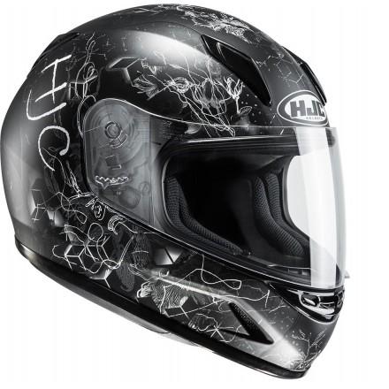 Casco integrale moto donne bambini Hjc CL-Y Vela Mc5 lady young helmet casque