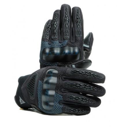 Guanti moto Dainese D-Explorer 2 nero ebony black gloves