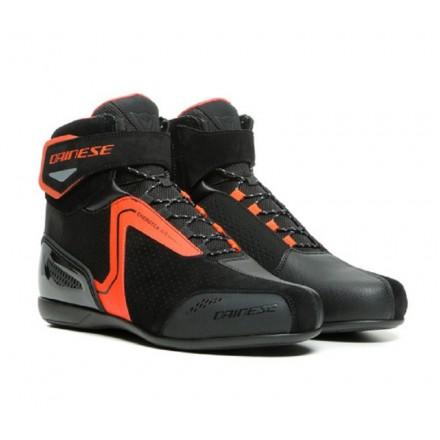 Scarpe moto Dainese Energyca air nero rosso black red shoes