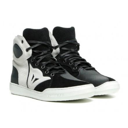 Scarpe moto Dainese Atipica air nero bianco black white shoes