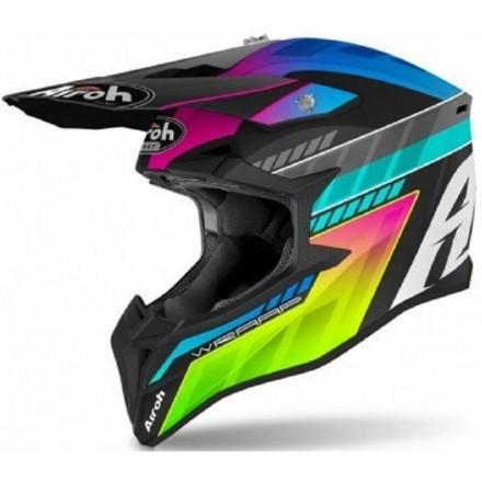 Casco bambino moto cross Airoh Wraap youth Prism enduro motard off road helmet casque