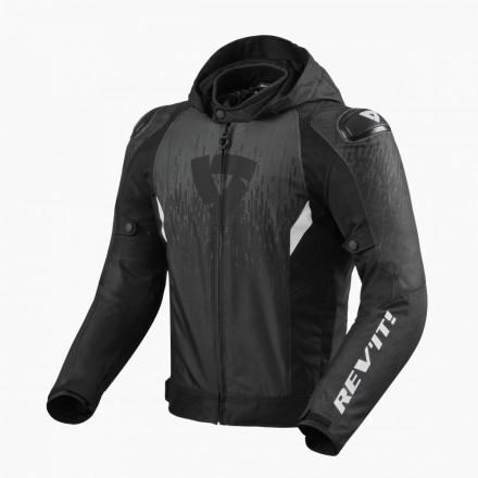 Giacca Revit Quantum 2 h2o nero antracite black jacket