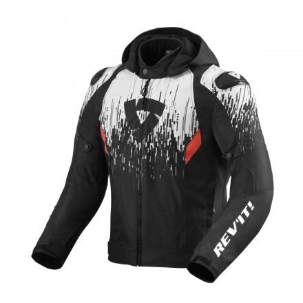 Giacca Revit Quantum 2 h2o nero bianco black white jacket