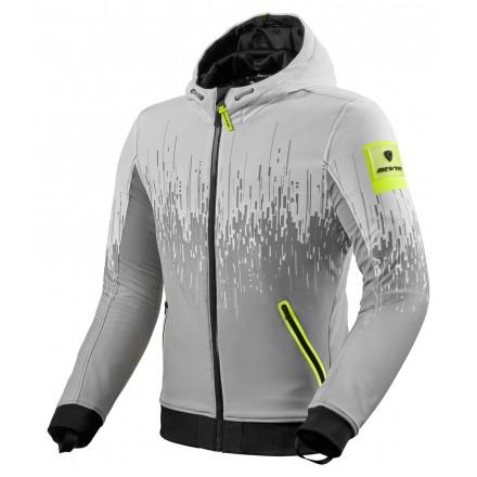Giacca Revit Quantum 2 WB grigio chiaro giallo light grey yellow jacket