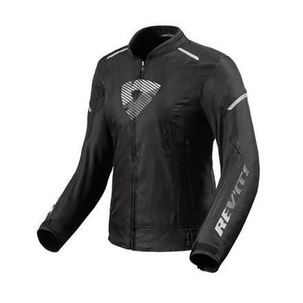Giacca donna Rev'it Sprint h2o ladies nero bianco black white woman jacket