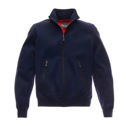 Felpa Giacca moto Blauer Easy Man Pro Blue jacket hoodie