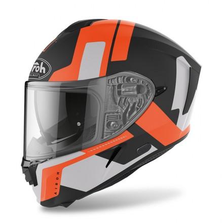 Airoh Spark Shogun arancione opaco orange matt helmet casque