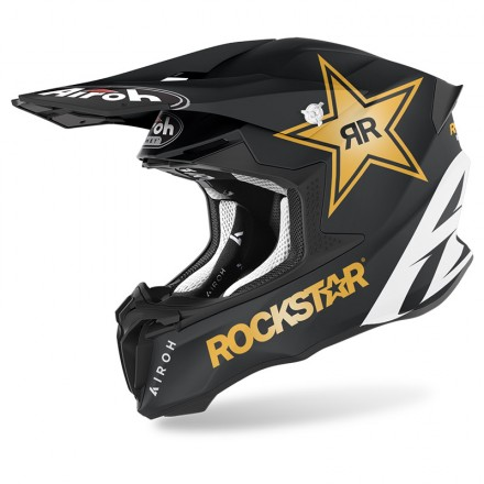 Airoh Twist 2.0 Rockstar 2022 matt enduro motard off road helmet casque