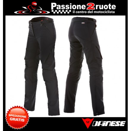 Pantaloni donna moto Dainese New Drake Air Lady Tex black trouser pant