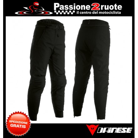 Pantoloni donna moto impermeabile Dainese Amsterdam Lady D-dry black woman waterproof pant trouser