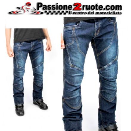 jeans moto uomo oj muscle nero black man