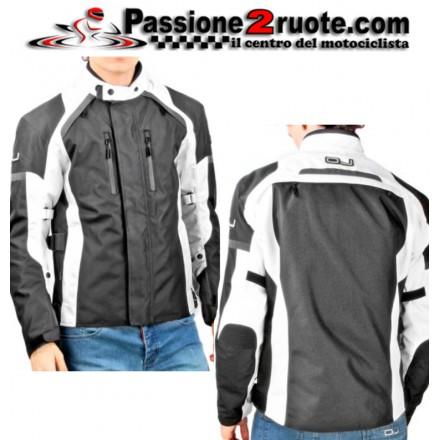 Giacca moto Oj Unstoppable Man White jakcet