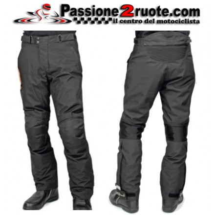 Pantalone 4 stagioni sfoderabili moto Oj Riderpant man black pants