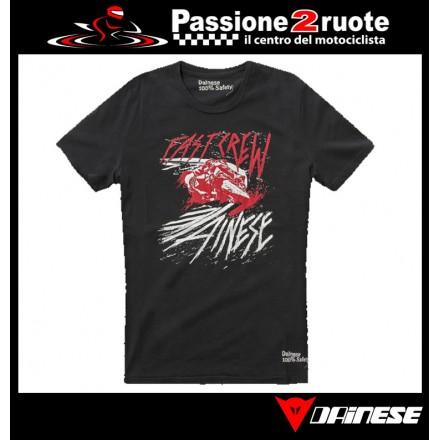 T-shirt Dainese Fast Nero