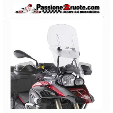 Cupolino parabrezza alto Givi Airflow AF5110 Bmw f800 gs adventure wind screen shield