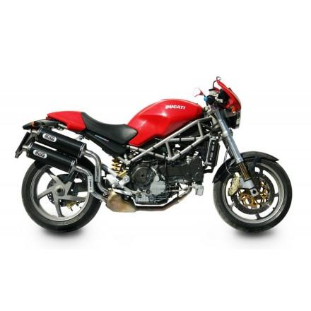 Scarichi Mivv Oval Carbonio Ducati Monster S2R - D.011.L3