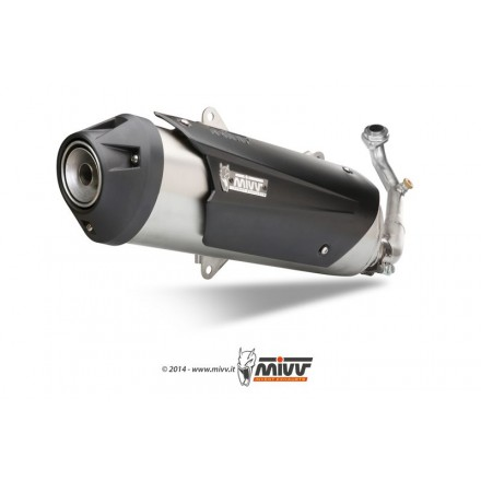 Impianto Scarico Completo Mivv Urban Gilera Nexus 300 - C.GL.0007.B