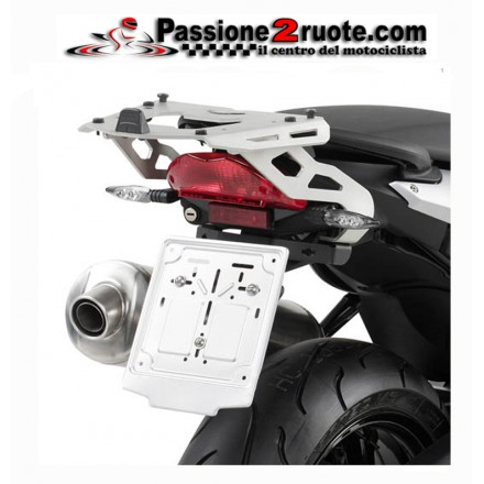 Attacco staffa bauletto posteriore Bmw F800 R Givi SRA691 rear rack top case