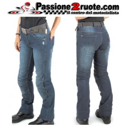Jeans pantalone donna moto scooter Oj Venere Lady pant