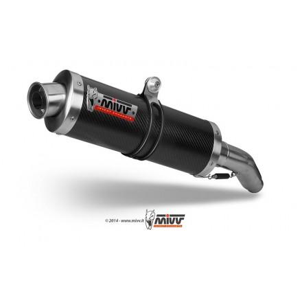 Scarichi Mivv Oval Carbonio Honda CBR 1100 XX - H.012.LE