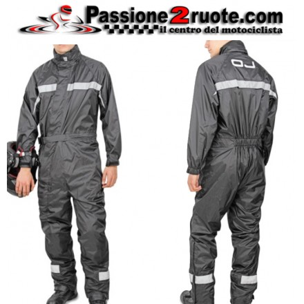 Tuta Antipioggia moto intera Oj Total Light rain suit
