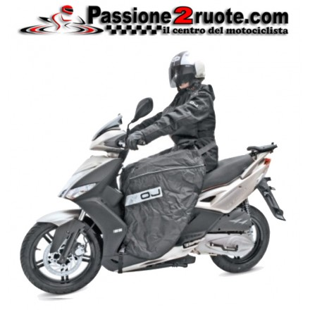 Fast coprigambe scooter universale impermeabile in poliestere per scooter a montaggio rapido cover leg