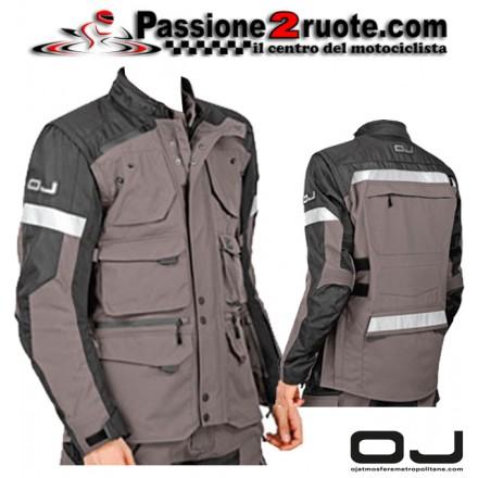 Giacca moto touring OJ Desert Evo Smoke jacket