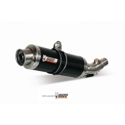 Scarico Mivv Gp Carbonio KTM Duke 125 / 200 - KT.009.L2S