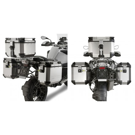Telai valigie laterali Bmw R1200 gs Adventure 2014-2018 Givi PL5108CAM pannier holder side cases