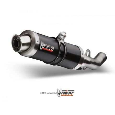 Scarico Mivv Gp Steel Black Suzuki GSX-R 600 750 2004-05 S.014.LXB