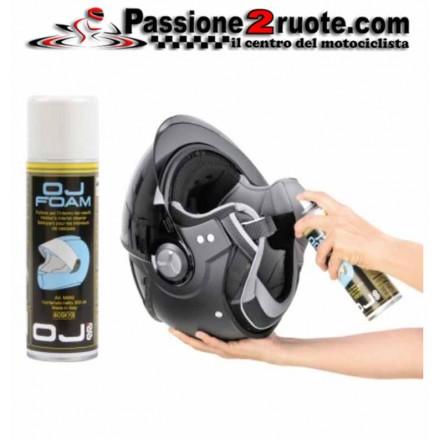 M040 Oj Foam 300 ml detergente spray per interno caschi igienizzante ed antibatterico