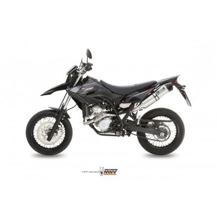 Mivv Impianto Scarico Completo Strongr Inox Carbon Cap Yamaha WR 125 R/X - M.YA.026.LXC