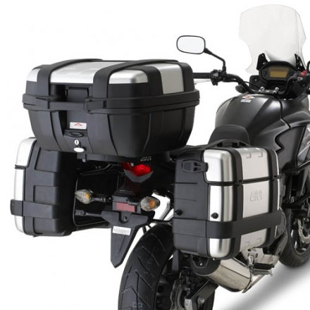 portavaligie Telaietti laterali Givi PL1121 Honda CB 500 X side frame