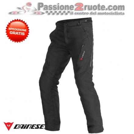 Pantaloni moto impermeabile Dainese Tempest D-dry nero black waterproof pant